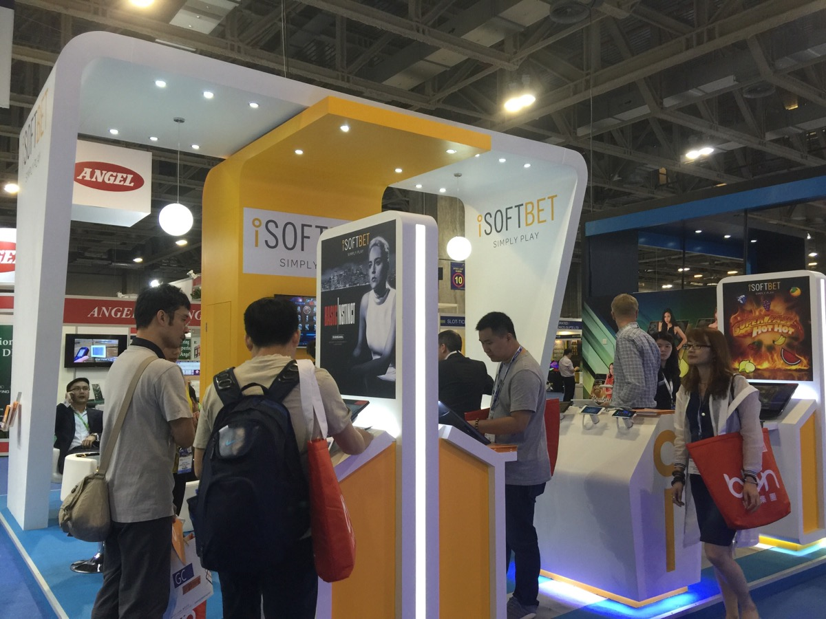 Exhibition Stand Game : Isoftbet g e success thy name is macao lucky slots