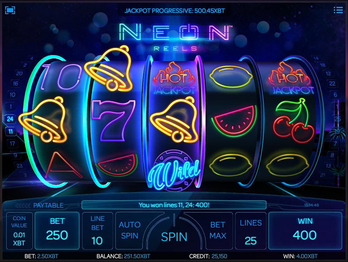 Neon Reels XBT